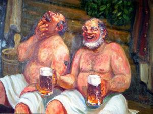 Можно ли пить пиво в бане?
