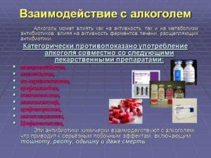 Совместимость и взаимодействие Лонгидазы и алкоголя