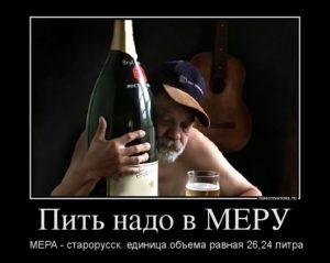 Как научиться пить алкоголь в меру