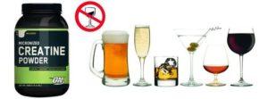 Креатин и алкоголь