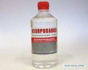 Изопропиловый спирт, абсолютированный: применение спирта, гост 9805 84, формула
