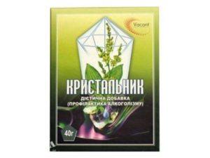 Кристальник от алкоголизма: трава, препарат от алкоголизма, отзывы инструкция по применению