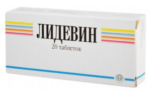 Лидевин - препарат от алкоголизма, таблетки, инструкция к применению, отзывы принимавших