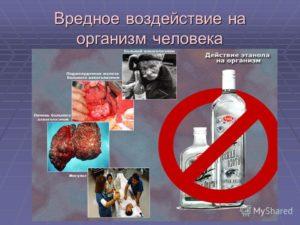 Влияние спирта на организм человека, вред этилового спирта для человека