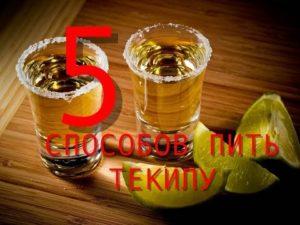 Как пить текилу - 4 лучших способа