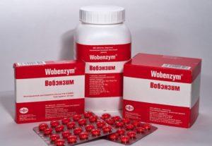 Вобэнзим и алкоголь, совместимость спиртных напитков и Вобэнзима