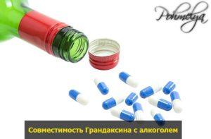 Грандаксин и алкоголь: совместимость, инструкция