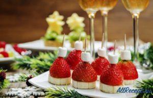Брызги шампанского: самые правильные закуски к игристому вину