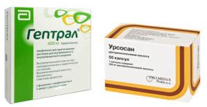 Применение препарата «Гептрал» при алкогольной болезни печени