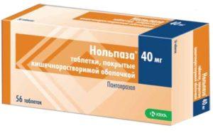 Нольпаза и алкоголь: взаимодействие, 40 мг, последствия