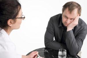 Психологическая помощь при алкоголизме: поддержка при лечении
