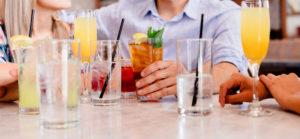 Какие алкогольные напитки пить на диете