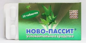 Совместимость Новопассита с алкоголем, успокоительное средство