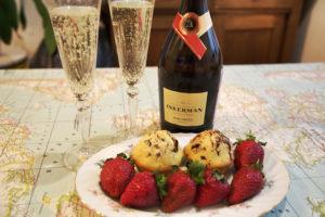 с чем пьют шампанское: сладкое и полусладкое