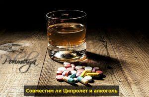 Ципролет и алкоголь, «за» и «против»!