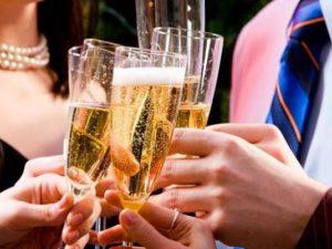 С чем пьют шампанское. совет